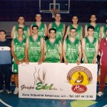Miguelitos Ruiz con el Baloncesto local